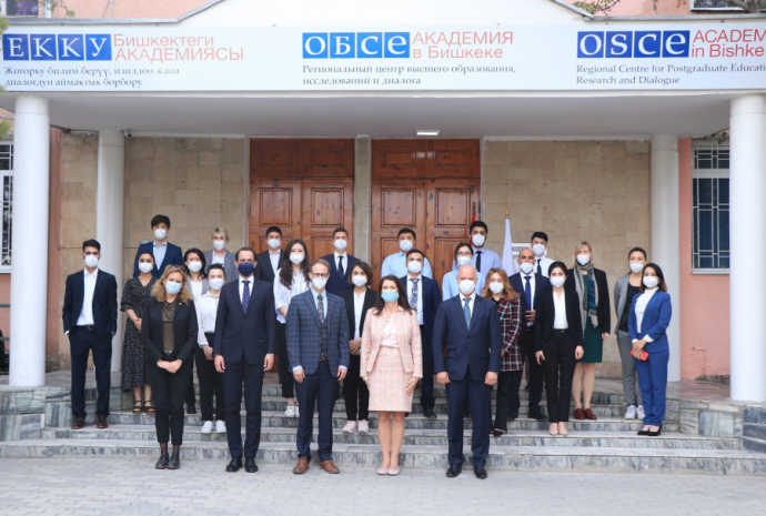 OSCE Chairperson-in-Office Ann Linde visits the OSCE Academy
